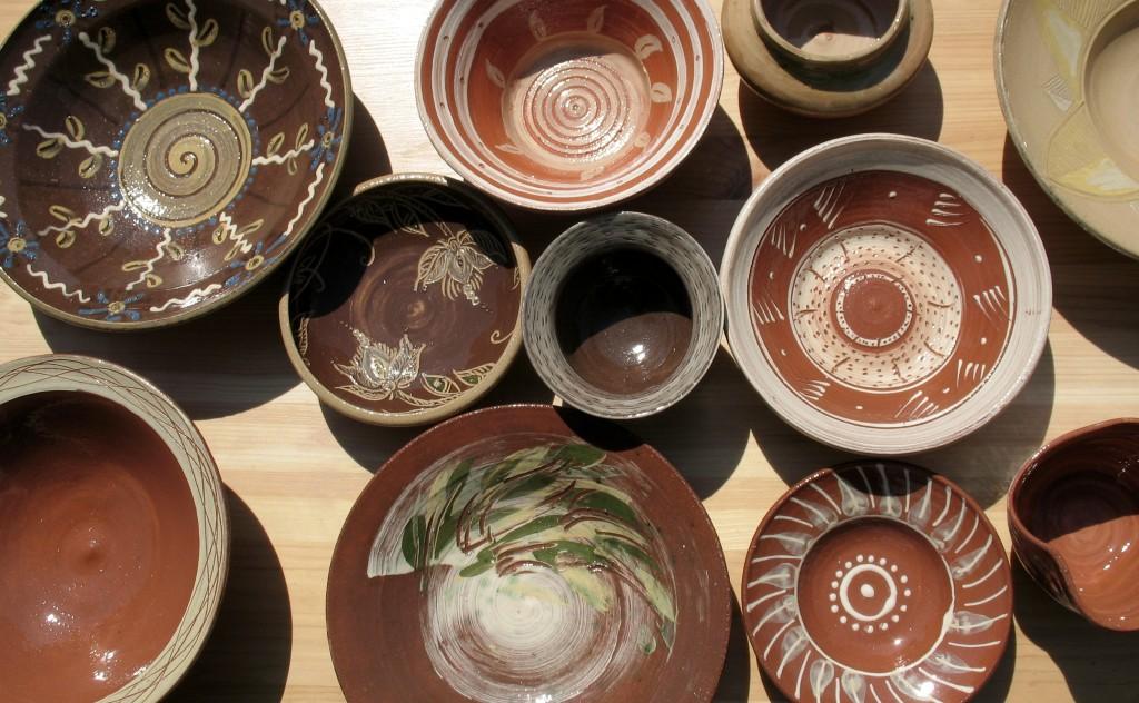 Volné repliky kukačkované levínské keramiky 17. a 18. století